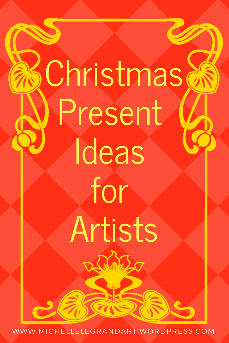 Christmas Present Ideas for Artists