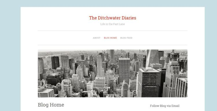 Example of Penscratch WordPress theme